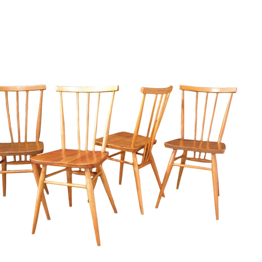S Rie 4 Chaises Ercol Room 30