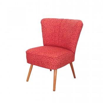 FAUTEUIL COCKTAIL ROSE, fauteuil cocktail vintage,  fauteuil vintage
