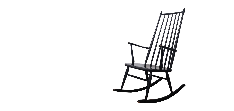 rocking chair 1950 60 style tapiovaara vendu room 30. Black Bedroom Furniture Sets. Home Design Ideas