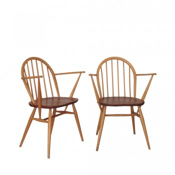 Paire chaises ERCOL