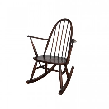 rocking chair ercol, mobilier vintage, Room 30
