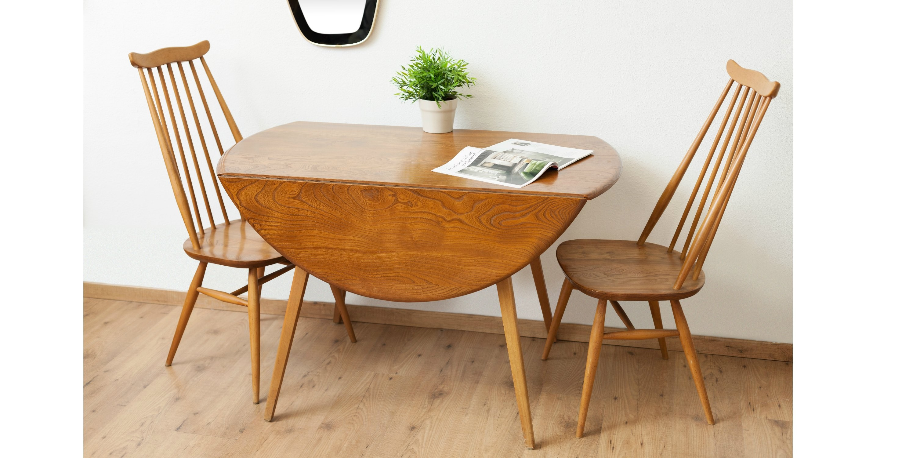Table manger pliante ercol 1960 vendue room 30 - Table manger pliante ...