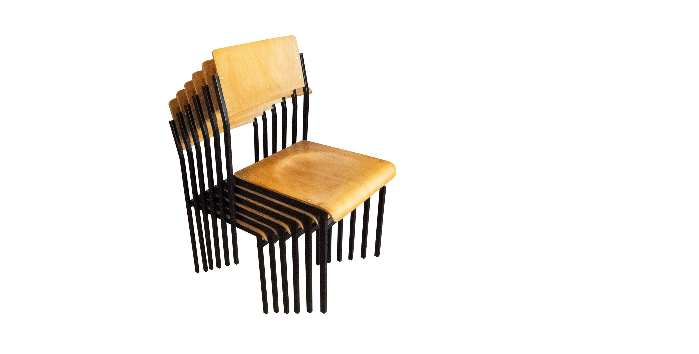 chaise style industriel colier 1970 vendues room 30. Black Bedroom Furniture Sets. Home Design Ideas
