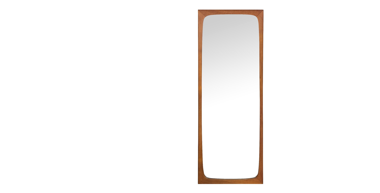 grand miroir en teck 1960 style scandinave vendu room 30. Black Bedroom Furniture Sets. Home Design Ideas