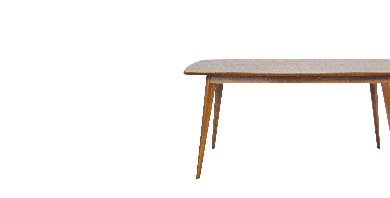 table basse rectangulaire danoise pieds compas 1960 vendue room 30. Black Bedroom Furniture Sets. Home Design Ideas