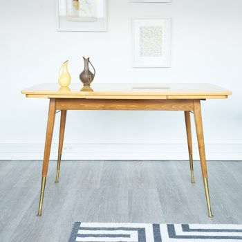 table a manger, table a manger vintage, table vintage, table rallonges vintage, table a rallonges vintage, table de cuisine vintage, pids compas, table pieds compas pieds compas