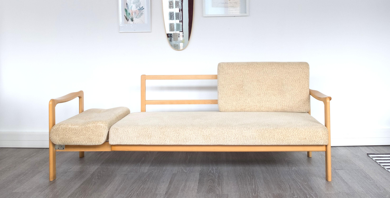 Canap daybed scandinave 1960 vendu room 30 - Boutique scandinave en ligne ...