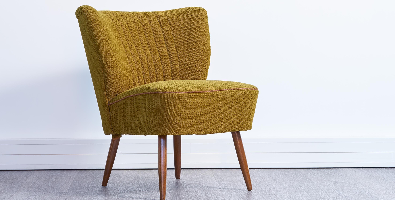 fauteuil cocktail vintage. fauteuil vintage, fauteuil vert vintage, fauteuil pieds compas vintage, paire de fauteuils vintage