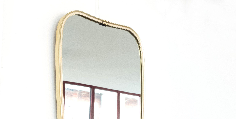 Miroir r troviseur beige dor 1950 vendu room 30 for Miroir retroviseur