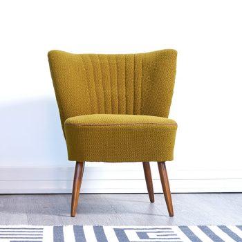 fauteuil cocktail vintage, fauteuil vintage, fauteuil pieds compas vintage