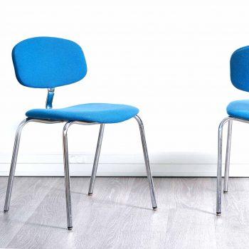 chaise strafor, fauteuil strafor, fauteuil bleu vintage, chaise bleu vintage, chaise strafor vintage, chaise bureau vintage, fauteuil bureau vintage