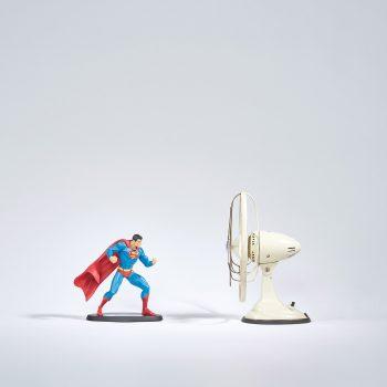 art, affiche, edition limitee, cadre, fine art, artiste, benoit lapray, super heros, superman, vintage, affiche vintage, oeuvre, tirage d'art