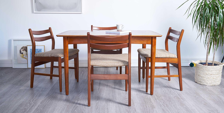 Nouveau table manger extensible style scandinave 1960 - Boutique scandinave en ligne ...
