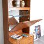 etagere vintage, etagere teck, etagere teck vintage, avalon, etagere modulable, etagere modulable vintage, bibliothèque vintage, bibliotheque vintage en teck