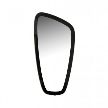 MIROIR ASYMETRIQUE, miroir vintage, miroir gravé , miroir asymétrique vintage
