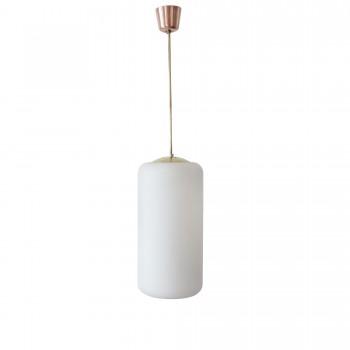 suspension laiton verre, suspension vintage, luminaire vintage, or rose, vintage, mobilier vintage, mobilier pas cher, room 30