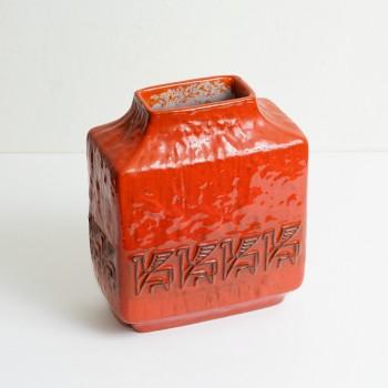 CERAMIQUE ROUGE, fat lava, fat lava vert, ceramique vintage, fat lava vintage, pichet vintage, pichet ceramique, room 30, ceramique allemande vintage, ceramique allemande, sphinx