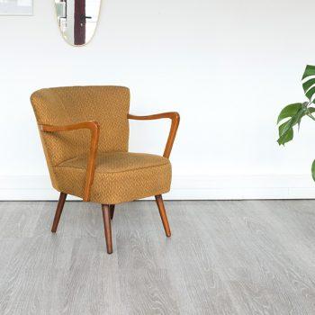 fauteuil cocktail vintage, fauteuil vintage, fauteuil accoudoirs cocktail, room30