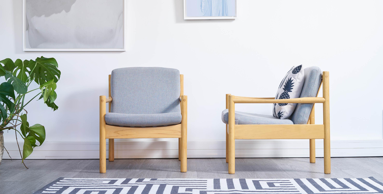 fauteuil ercol vintage, fauteuil bleu vintage, fauteuil scandinave vintage, fauteuil ercol bleu, paire de fauteuils ercol