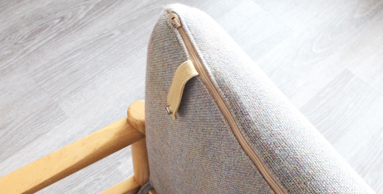 fauteuils ercol bleus vintage