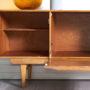 enfilade style scandinave vintage, enfilade teck clair, enfilade 168cm