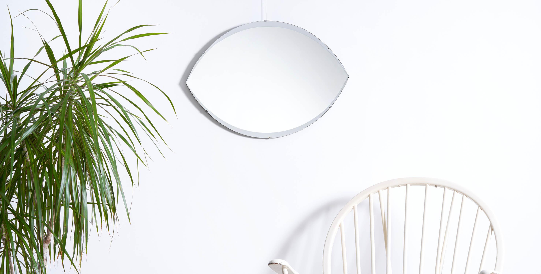 miroir vintage, miroir oeil, miroir asymetrique, cadeau noel, mobilier vintage, miroir vintage paris, room 30