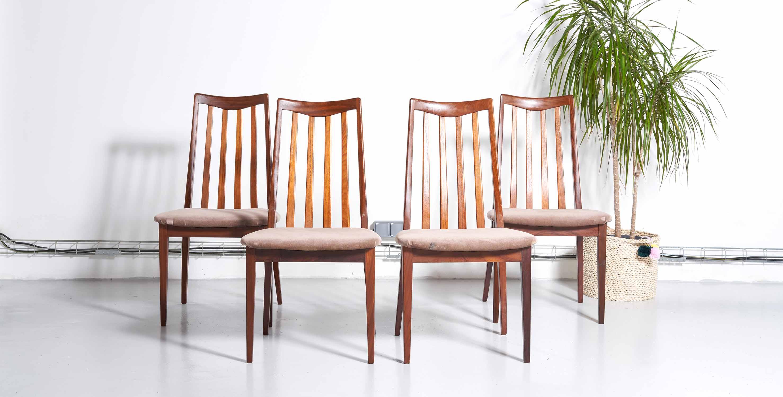 chaises scandinaves vintage, chaises vintage, chaises teck, chaises teck vintage, chaises verte vintage, chaise velours vintage, chaise danoises, chaises danoises vintage, chaises g plan, chaises anglaises vintage, room 30