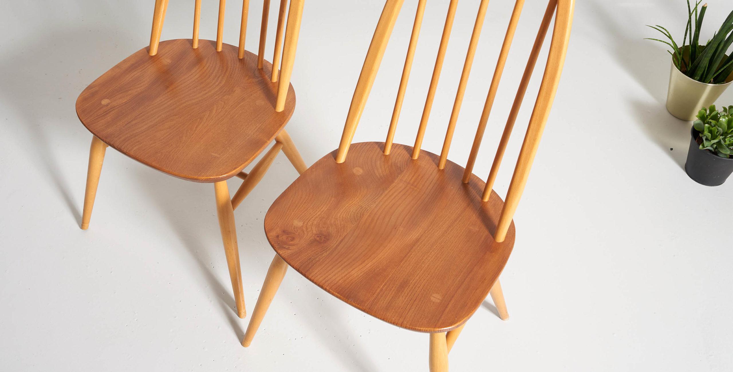 ercol, chaise ercol, chaise ercol, ercol quaker, chaise ercol quaker, ercol vintage, chaise ercol vintage, chaise à barreaux vintage, ercol ton clair, chaise ercol bois clair, chaise ercol bois blond
