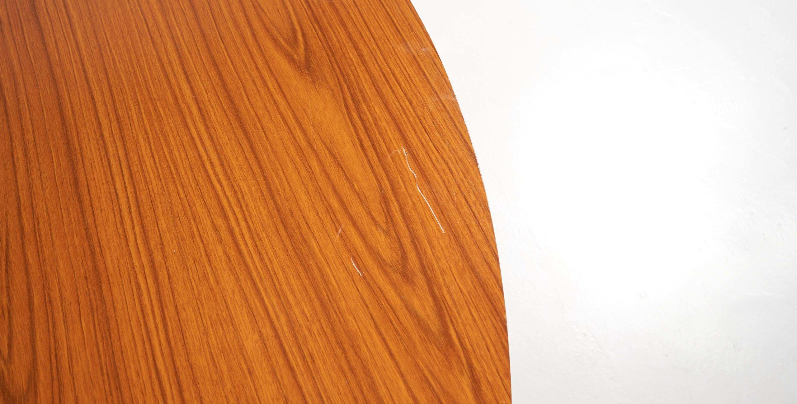Table formica, table ovale vintage, table ovale, table ovale extensible, table vintage, table à manger ovale vintage, table scandinave, table formica, table extensible vintage