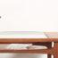 table basse g plan, table basse gplan, table basse vintage, table basse teck, table basse en teck vintage, table basse avec range revues, table basse rectangulaire vintage, table basse double plateau, g plan, gplan