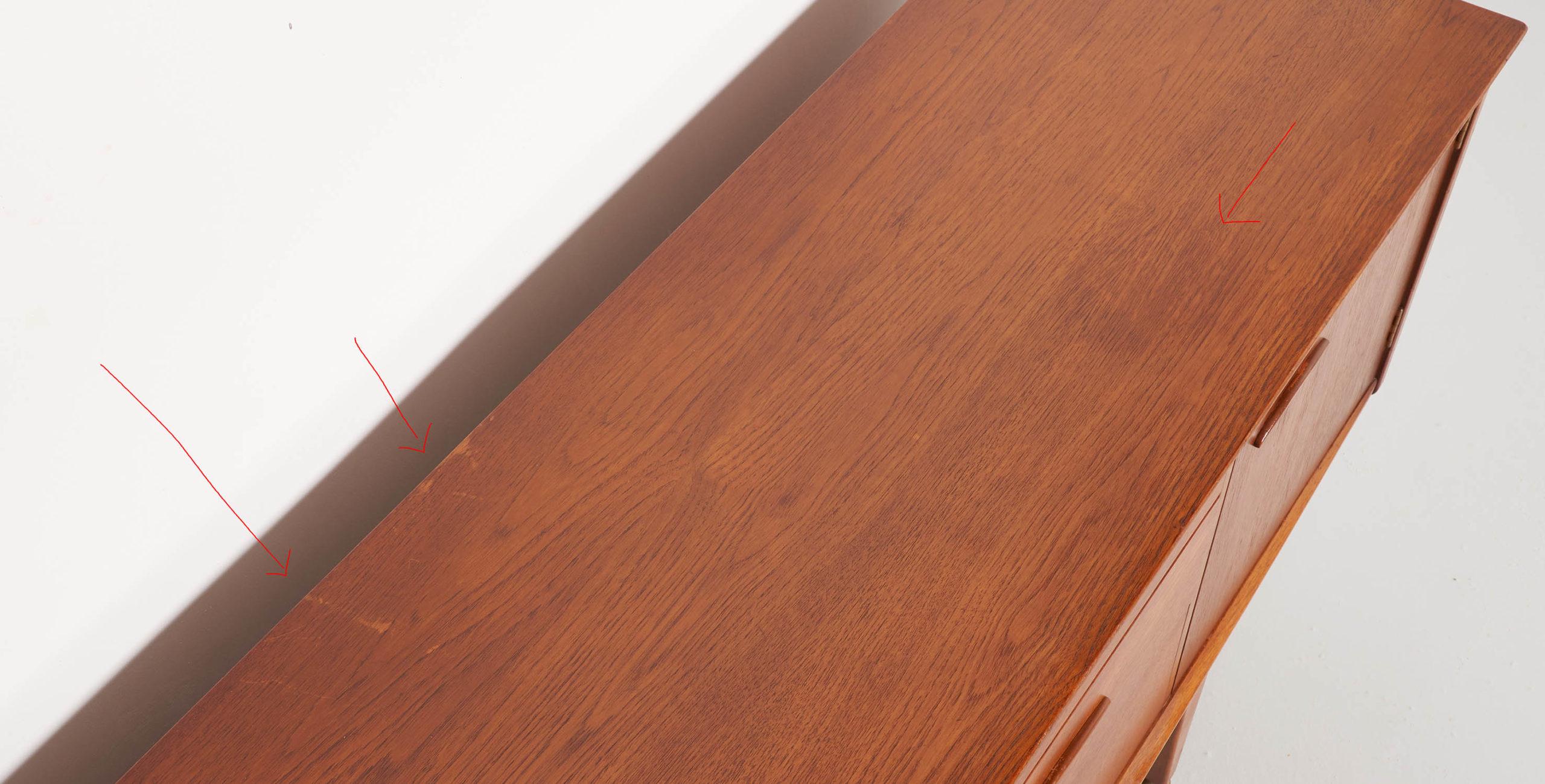 enfilade jentique, jentique, enfilade 150cm, enfilade anglaise vintage, enfilade en teck vintage, enfilade style scandinave, enfilade vintage, enfilade pieds reglables, enfilade